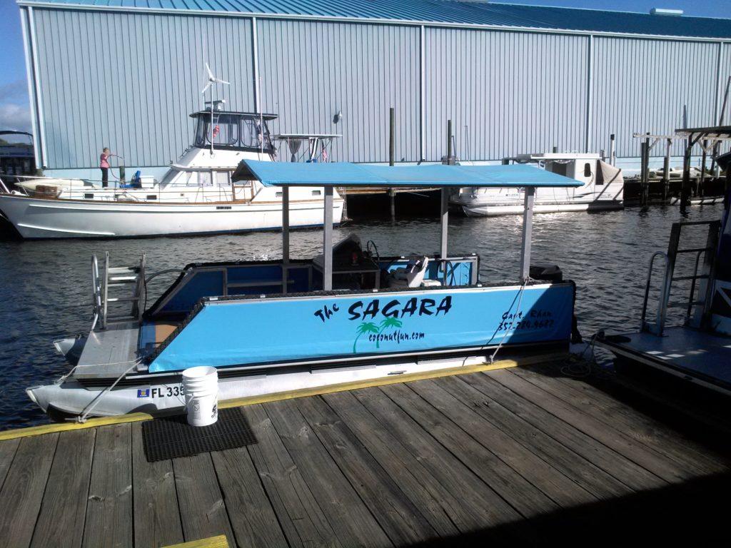 Sagara at docks